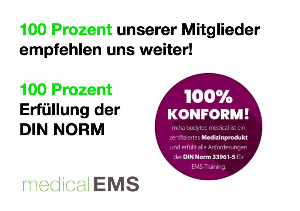 Rückentraining mit EMS